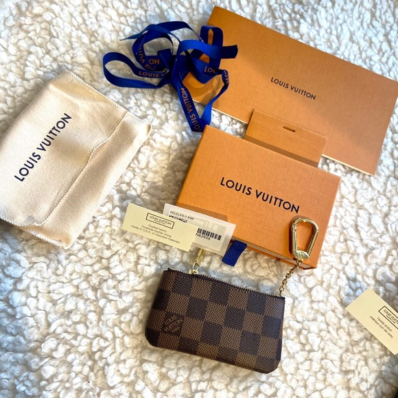 🦄 Full set Louis Vuitton Key pouch damier ebene